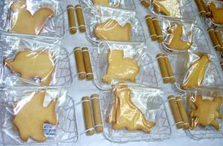 どうぶつクッキー・プリントクッキーのイメージ